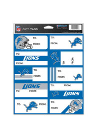 Detroit Lions Logo Gift Tags