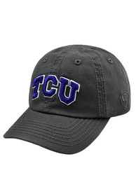 TCU Horned Frogs Baby Top of the World Crew Adjustable Hat - Charcoal