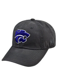 K-State Wildcats Baby Top of the World Crew Adjustable Hat - Charcoal