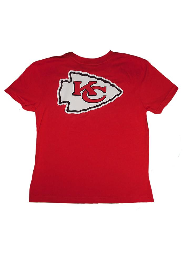 Kansas City Chiefs Youth Red Youth Rally Loud Short Sleeve T-Shirt - Image 3