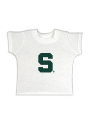Michigan State Spartans Infant Block Short Sleeve T-Shirt White