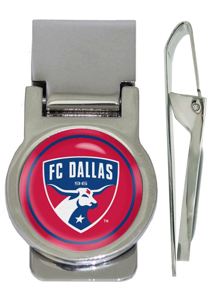 FC Dallas Silver Plated Mens Money Clip - Image 1
