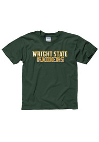 Wright State Raiders Youth Green Rally Loud T-Shirt
