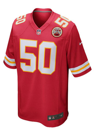 Justin Houston Nike KC Chiefs Mens Red Game Jersey