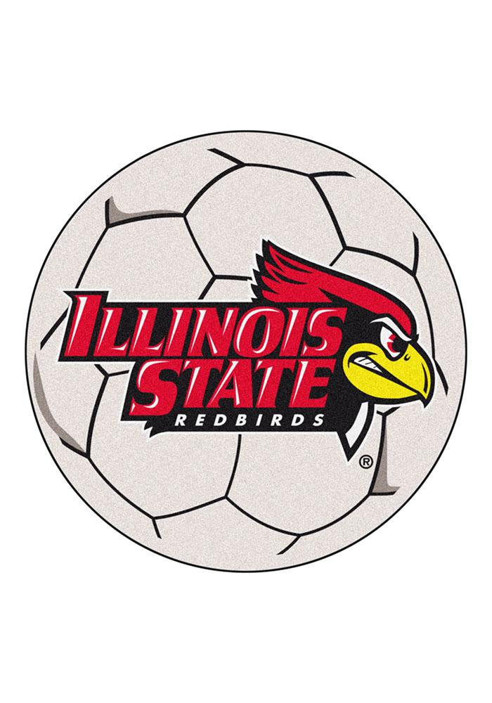 Illinois State 27 Inch Soccer Interior Rug - Image 1