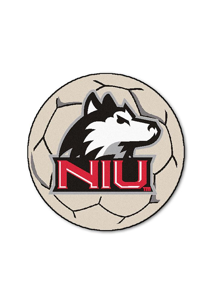 Northern Illinois Huskies 27 Inch Soccer Interior Rug - Image 1