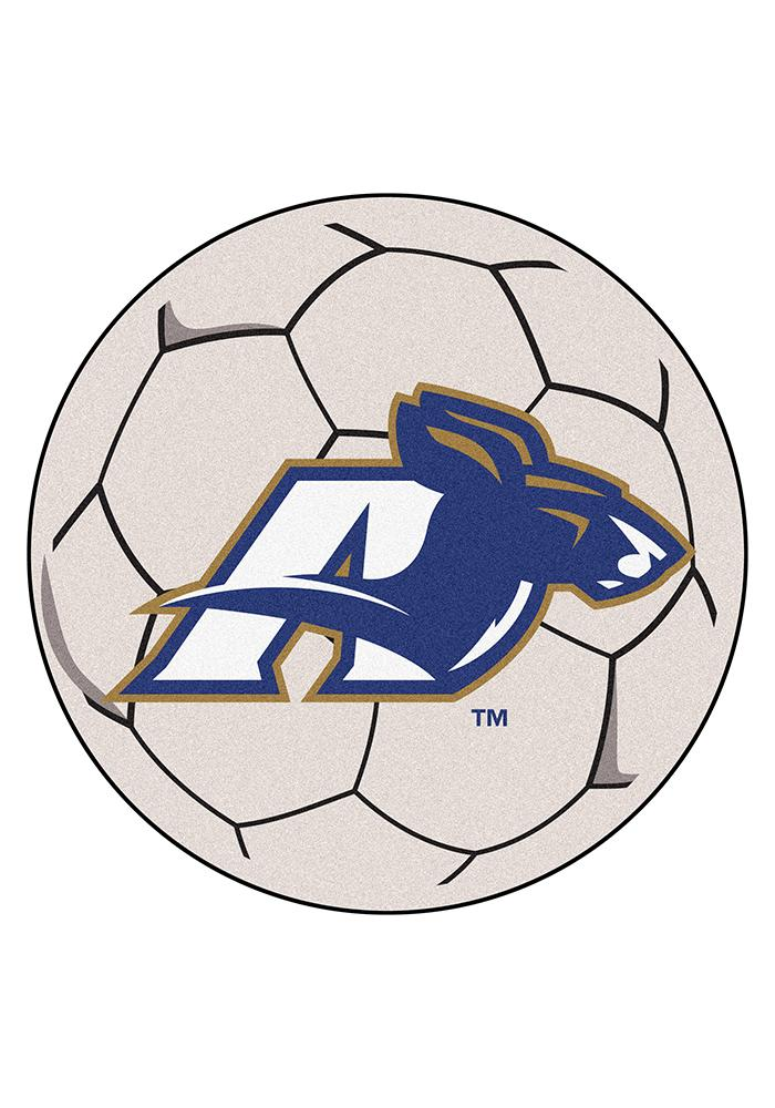 Akron Zips 27 Inch Soccer Interior Rug - Image 1
