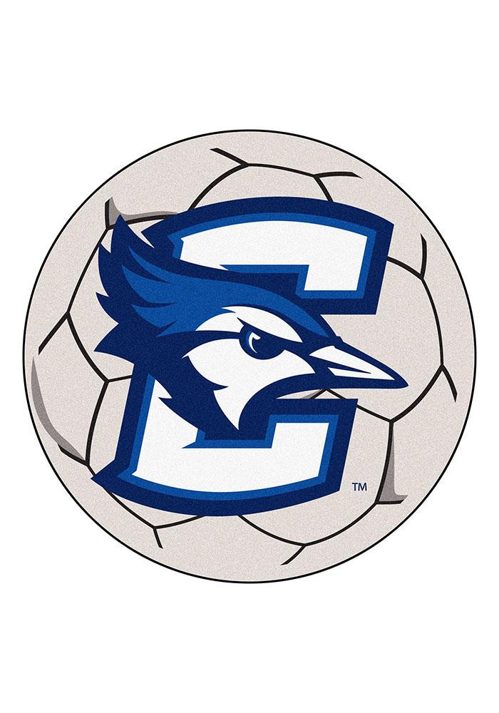 Creighton Bluejays 27 Inch Soccer Interior Rug - Image 1