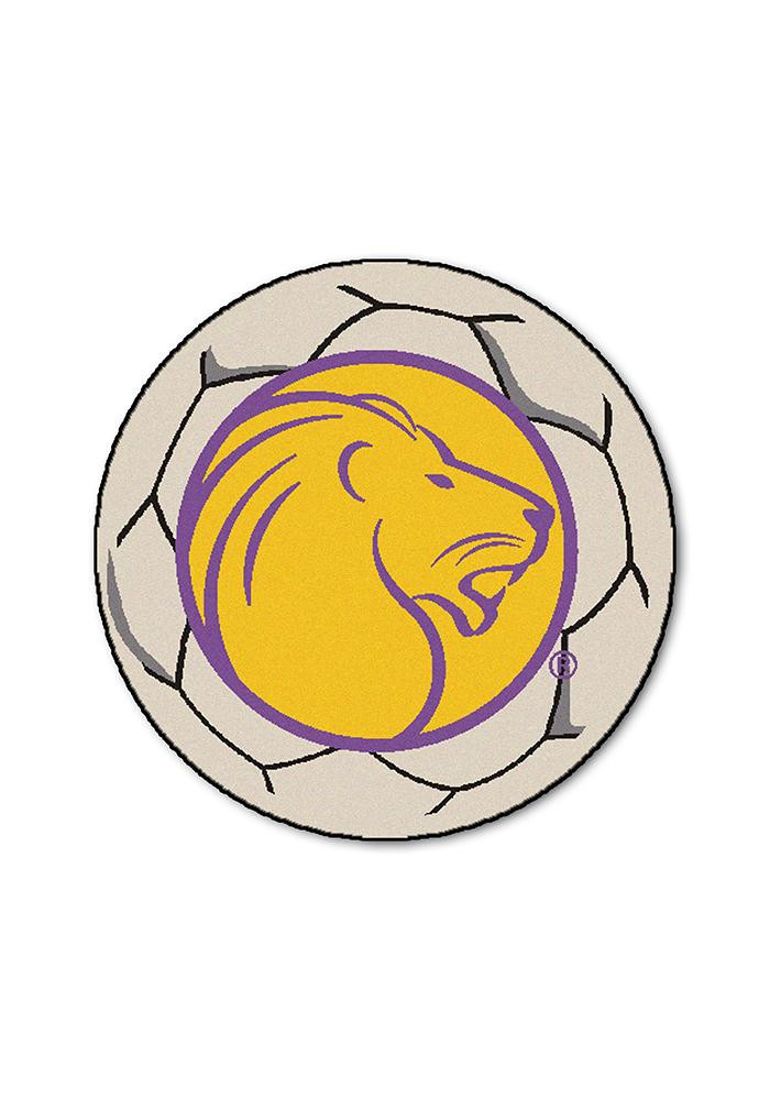 North Alabama Lions 27 Inch Soccer Interior Rug - Image 1