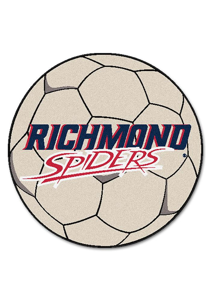 Richmond Spiders 27 Inch Soccer Interior Rug - Image 1