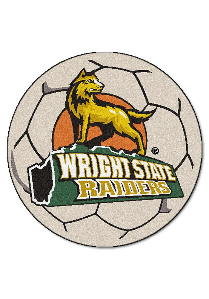 Wright State Raiders 27 Inch Soccer Interior Rug - Image 1