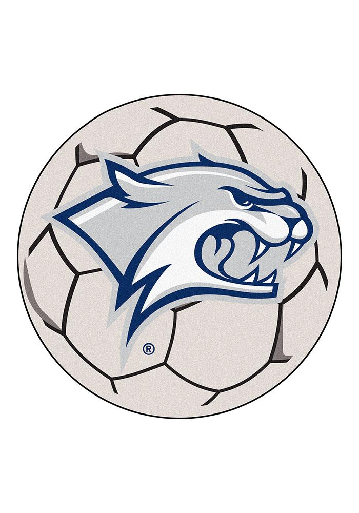 New Hampshire Wildcats 27 Inch Soccer Interior Rug - Image 1