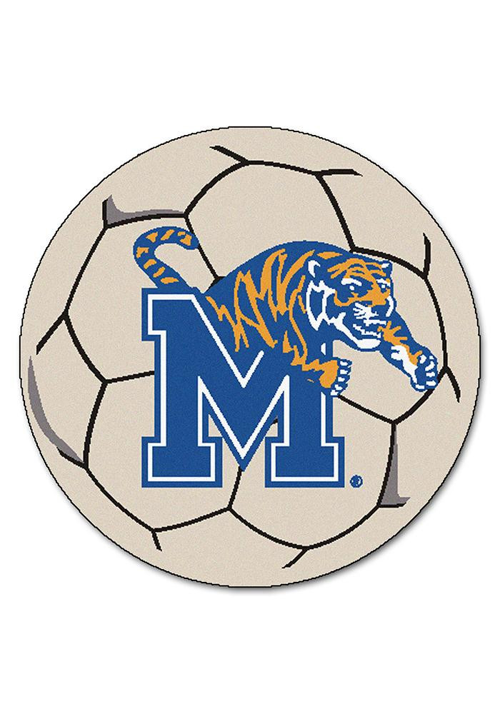 Memphis Tigers 27 Inch Soccer Interior Rug - Image 1