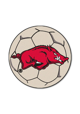 Arkansas Razorbacks 27 Inch Soccer Interior Rug