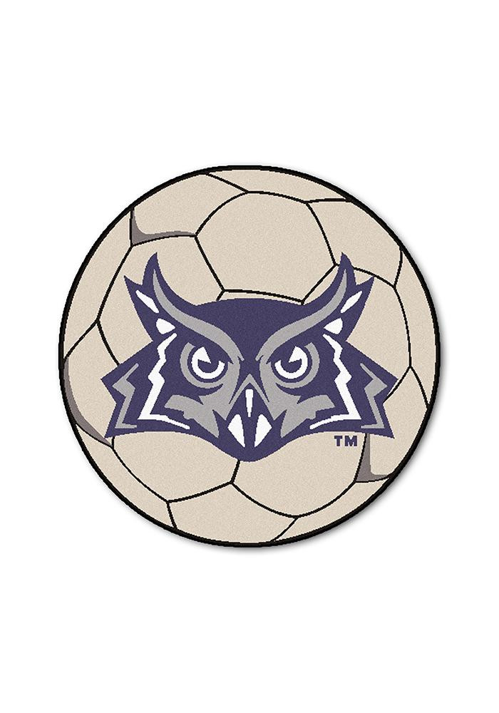 Rice Owls 27 Inch Soccer Interior Rug - Image 1