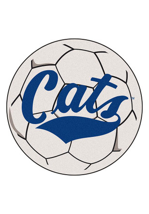Montana State Bobcats 27 Inch Soccer Interior Rug