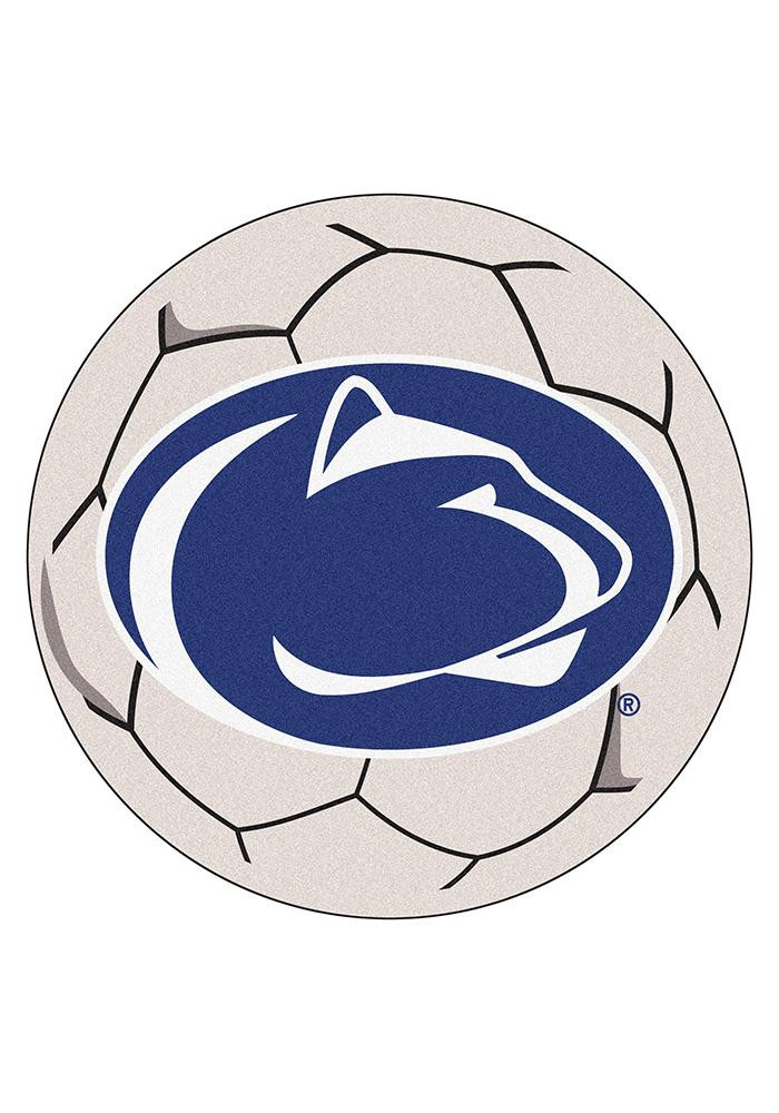 Penn State Nittany Lions 27 Inch Soccer Interior Rug - Image 1