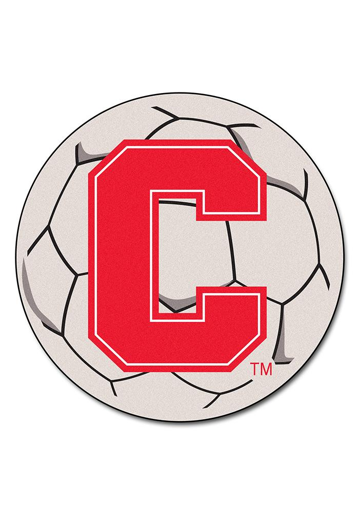 Cornell Big Red 27 Inch Soccer Interior Rug - Image 1