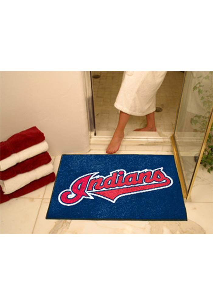 Cleveland Indians 34x45 All Star Interior Rug - Image 1