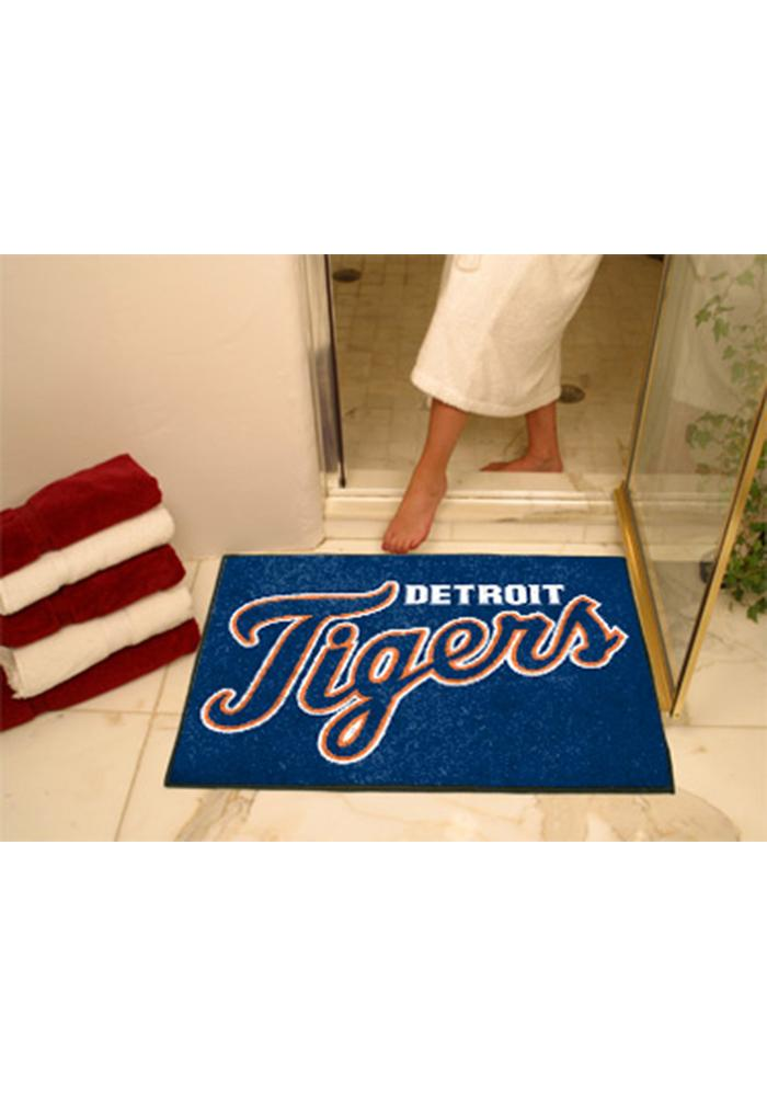 Detroit Tigers 34x45 All Star Interior Rug - Image 1