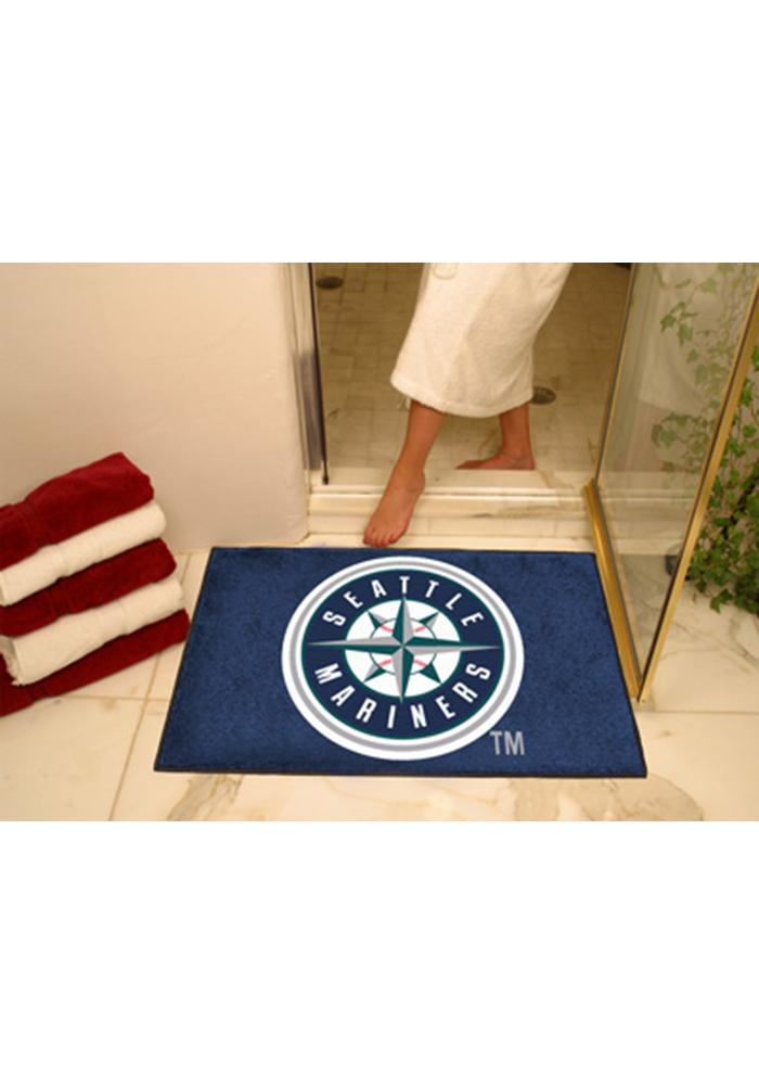 Seattle Mariners 34x45 All Star Interior Rug - Image 1