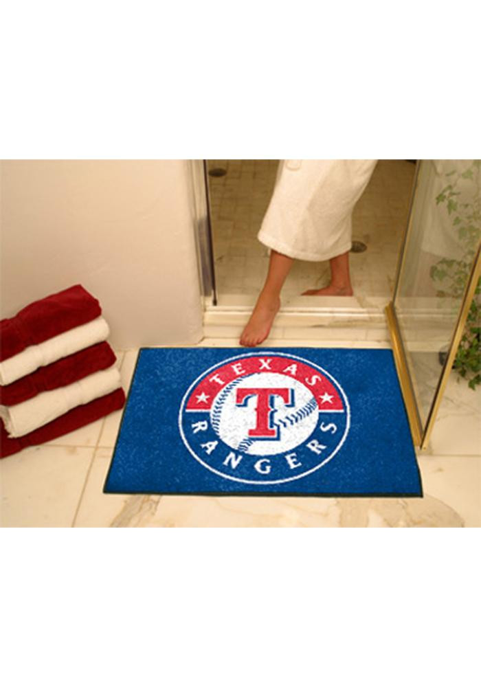 Texas Rangers 34x45 All Star Interior Rug - Image 1