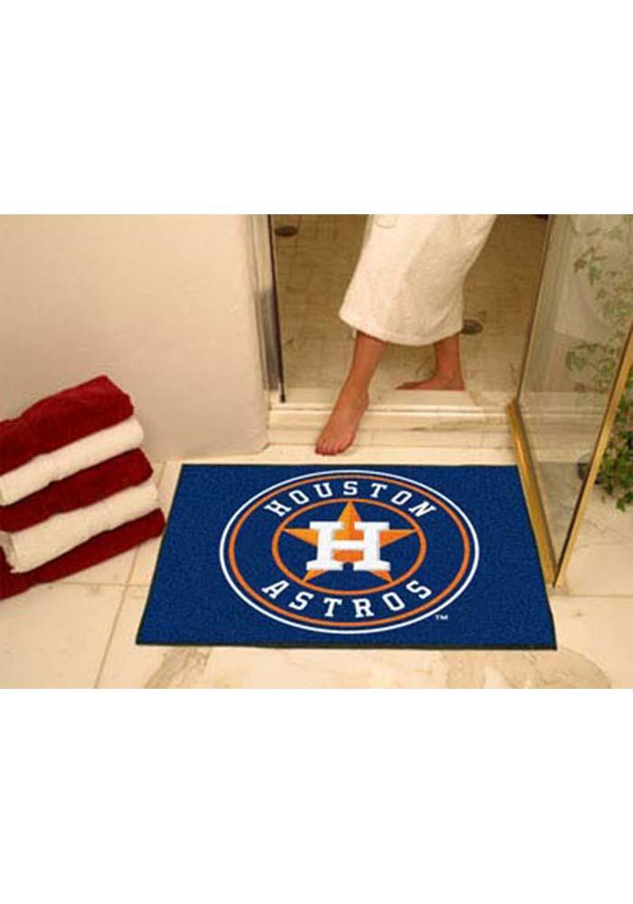 Houston Astros 34x45 All Star Interior Rug - Image 1