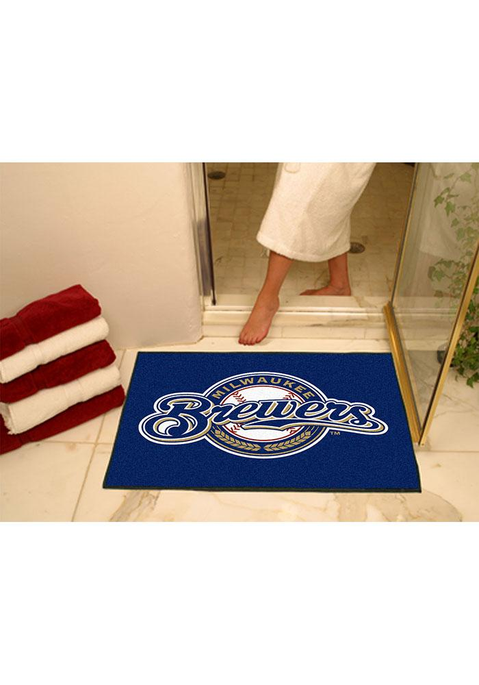 Milwaukee Brewers 34x45 All Star Interior Rug - Image 1