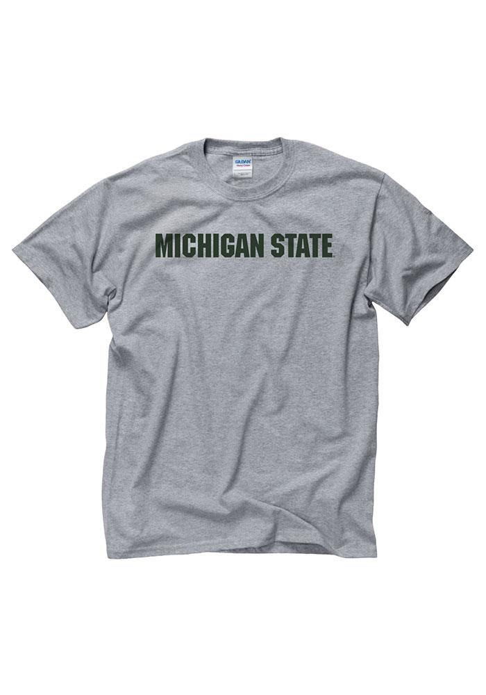 Michigan State Spartans Grey Rally Loud Tee