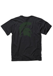 Michigan State Spartans Black Rally Loud Tee