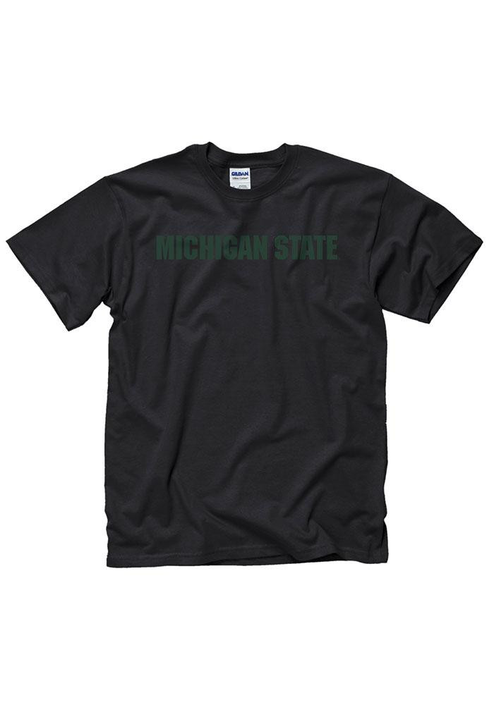 Michigan State Spartans Mens Black Rally Loud Short Sleeve T Shirt - Image 2