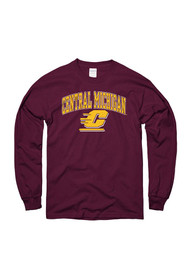 Central Michigan Chippewas Maroon Arch Tee