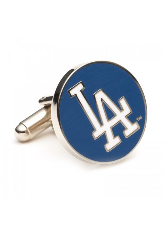 Los Angeles Dodgers Silver Plated Mens Cufflinks - Image 2