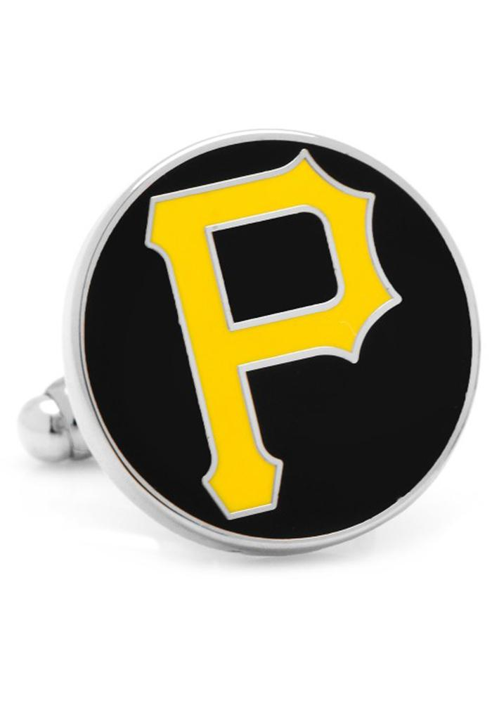 Pittsburgh Pirates Silver Plated Mens Cufflinks - Image 2