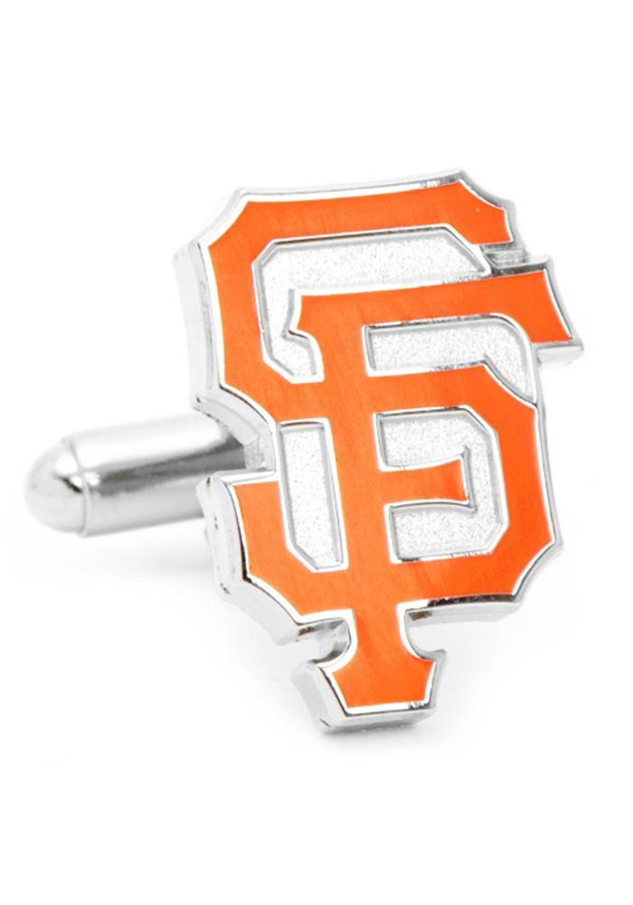 San Francisco Giants Silver Plated Mens Cufflinks - Image 2