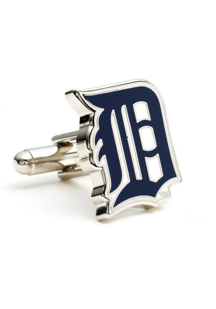 Detroit Tigers Silver Plated Mens Cufflinks - Image 2
