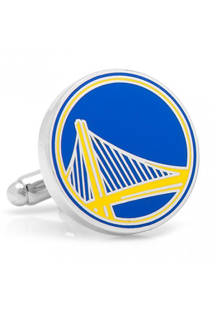 Golden State Warriors Silver Plated Mens Cufflinks - Image 2