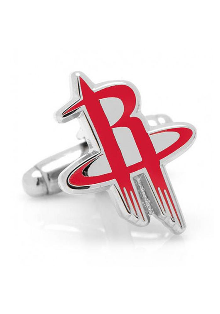 Houston Rockets Silver Plated Mens Cufflinks - Image 2
