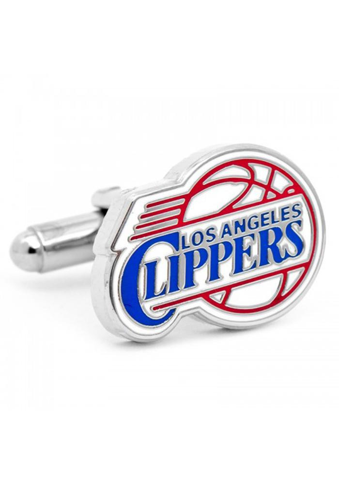 Los Angeles Clippers Silver Plated Mens Cufflinks - Image 2
