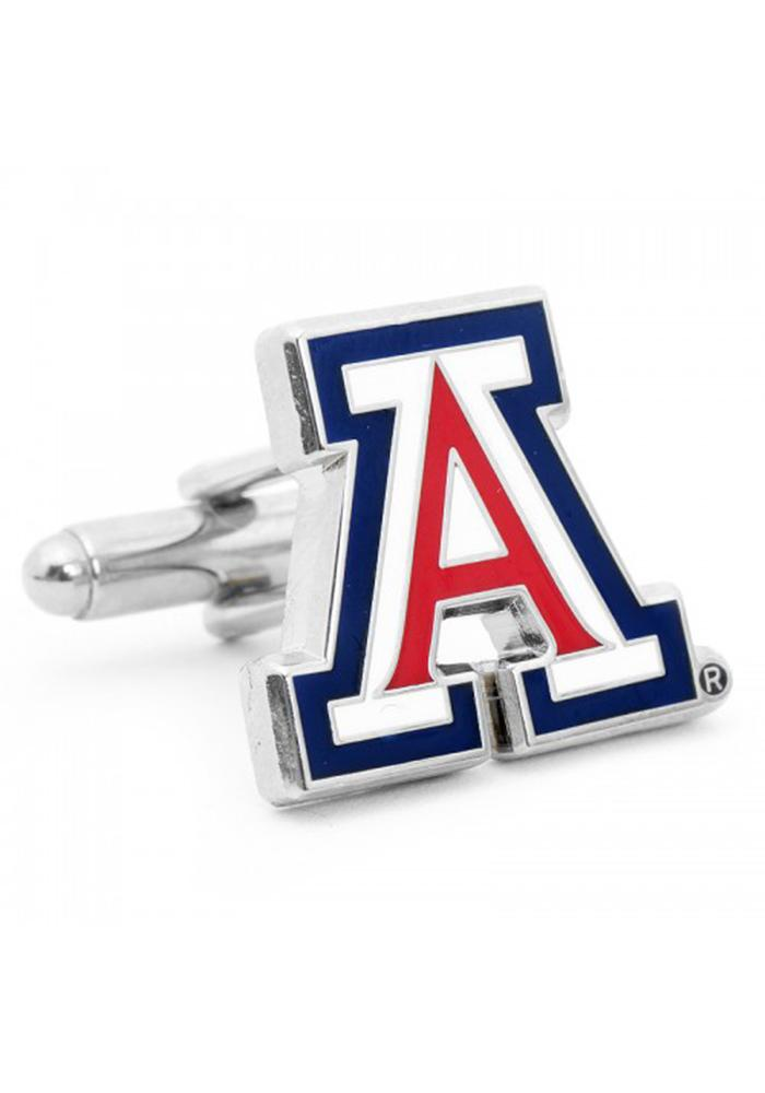 Arizona Wildcats Silver Plated Mens Cufflinks - Image 2