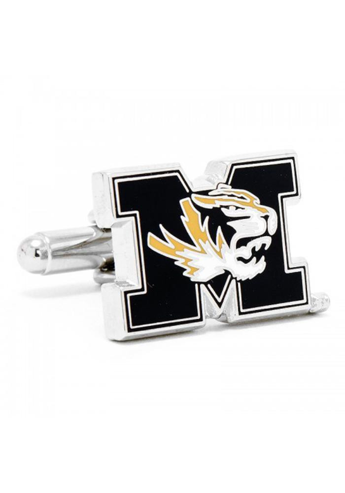 Missouri Tigers Silver Plated Mens Cufflinks - Image 2
