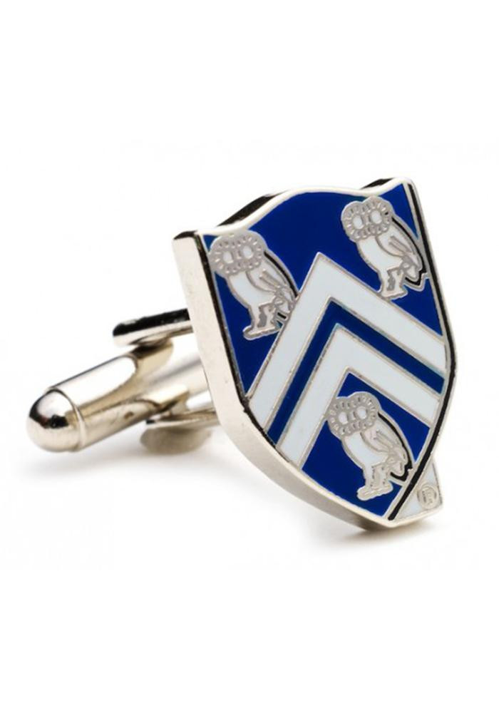 Rice Owls Silver Plated Mens Cufflinks - Image 2