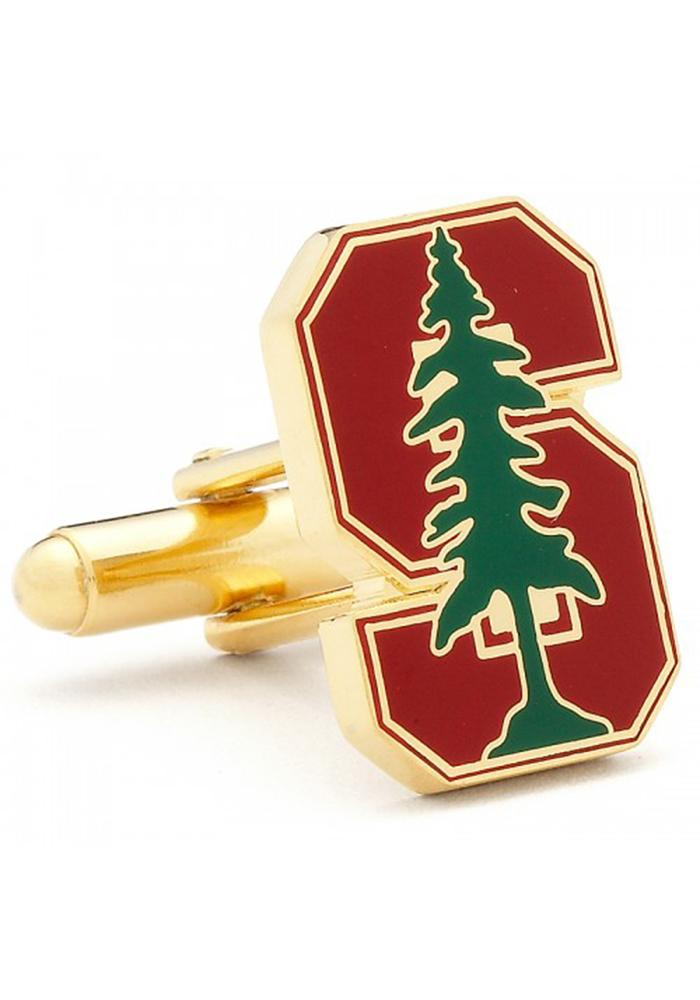 Stanford Cardinal Gold Plated Mens Cufflinks - Image 2