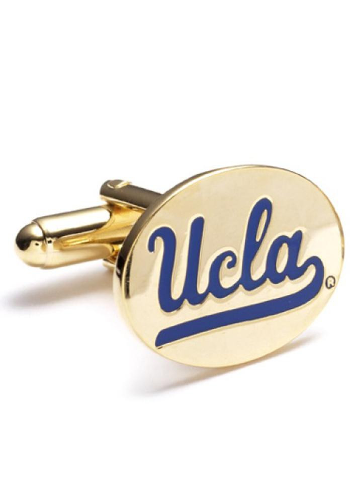 UCLA Bruins Gold Plated Mens Cufflinks - Image 2