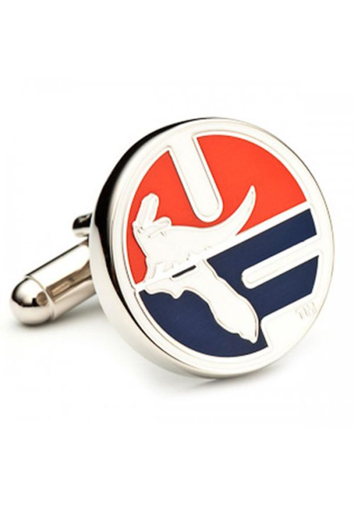 Florida Gators Silver Plated Mens Cufflinks - Image 1