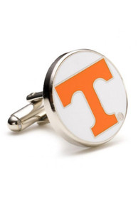 Tennessee Volunteers Silver Plated Cufflinks - Silver
