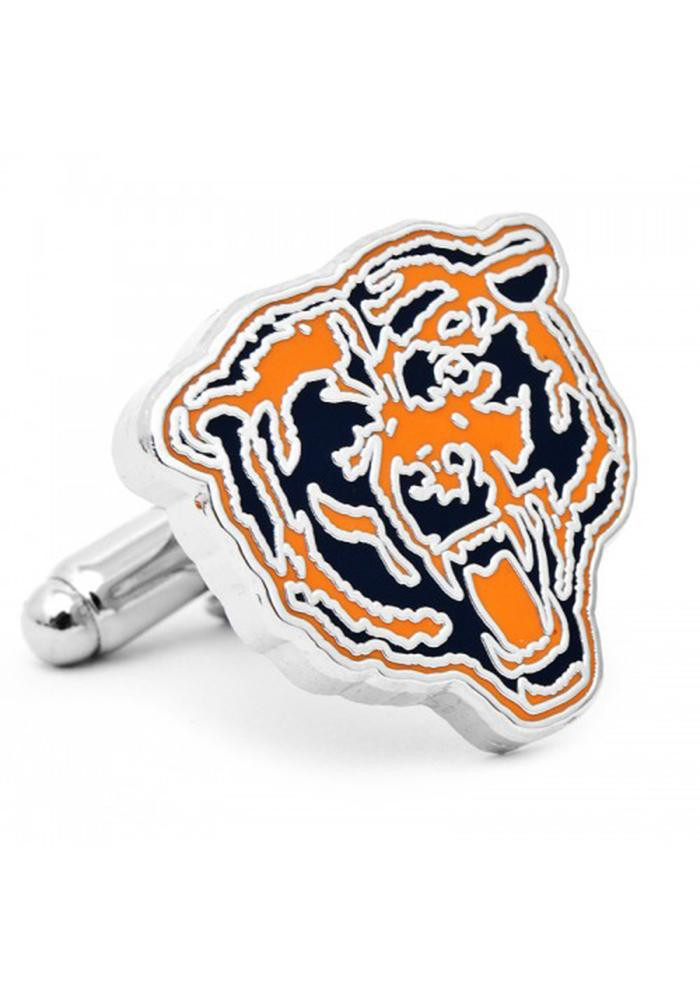 Chicago Bears Silver Plated Mens Cufflinks - Image 2