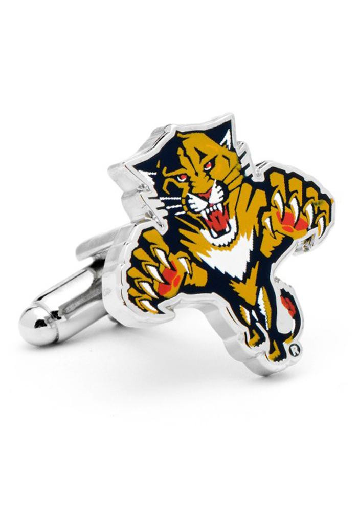 Florida Panthers Silver Plated Mens Cufflinks - Image 2