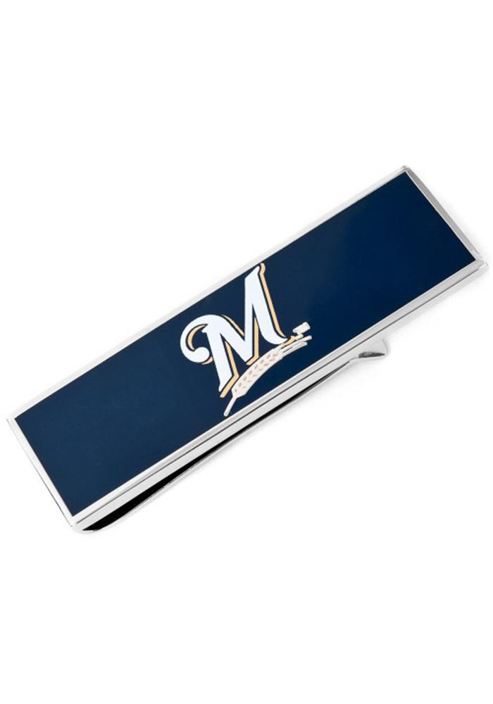 Milwaukee Brewers Silver Plated Mens Money Clip - Image 2