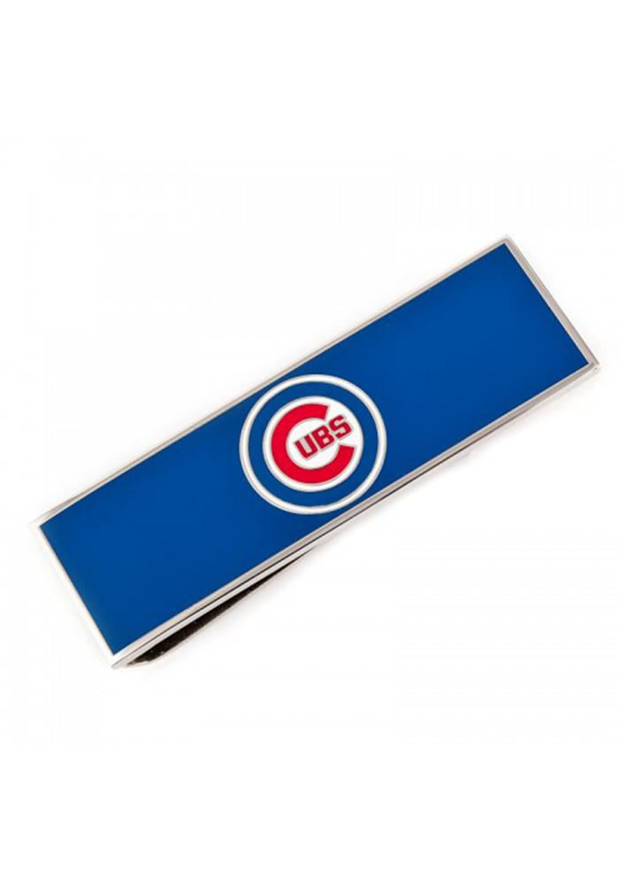 Chicago Cubs Silver Plated Mens Money Clip - Image 2